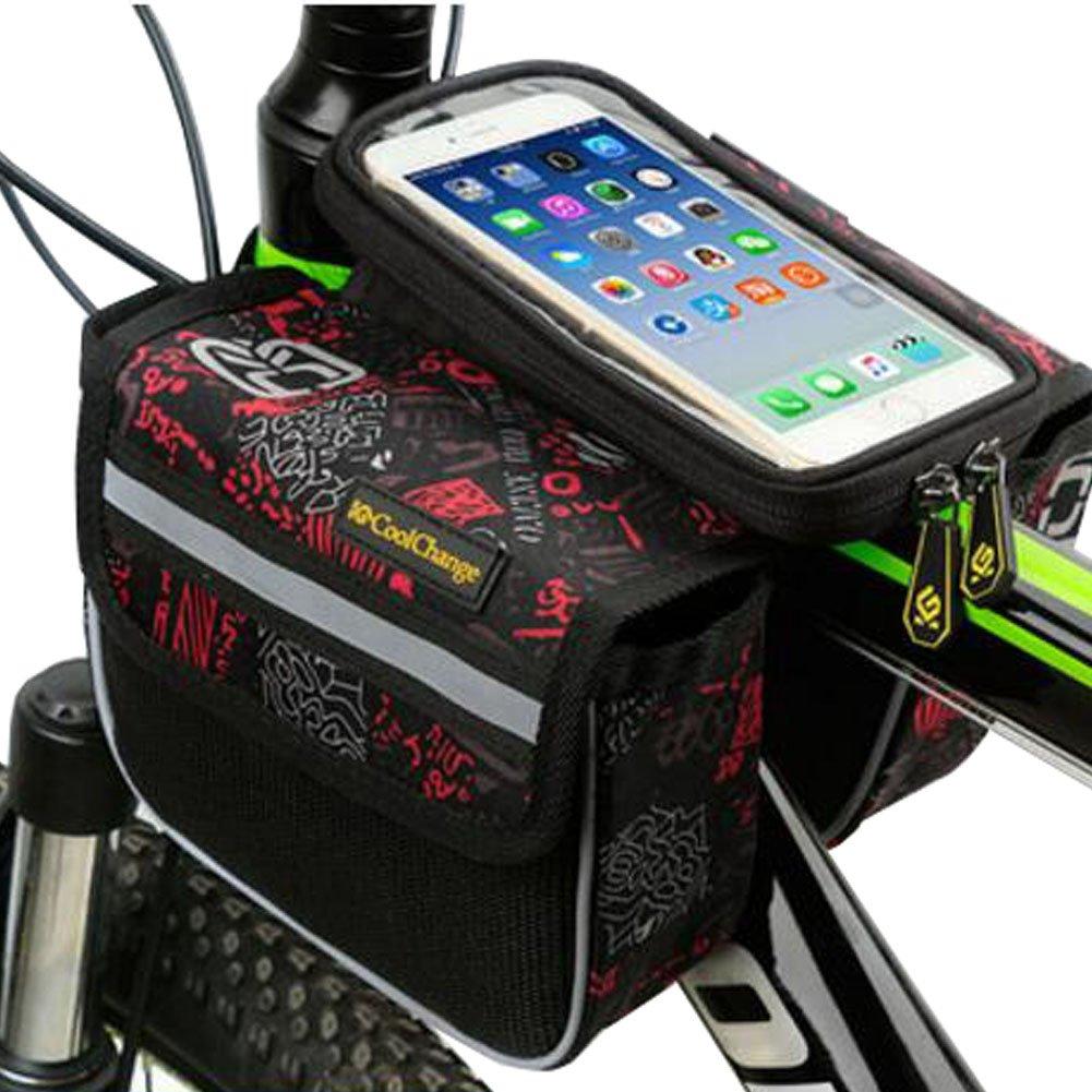 自転車パニエサドルバッグ自転車フレームバッグバイクハンドルバーbags-a1   B01N1KTM18