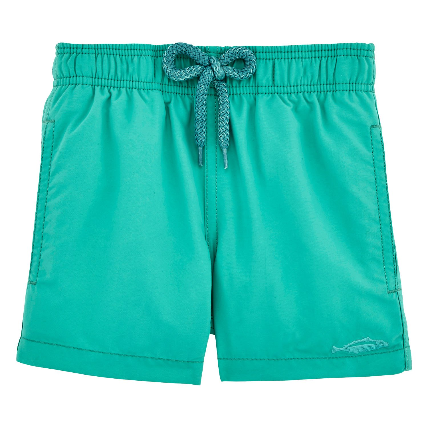 Vilebrequin Water-reactive Sardines à l'Huile Swim Shorts - Boys - veronese green - 8Yrs