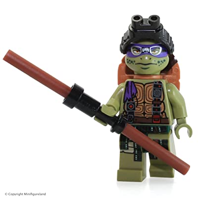 LEGO TMNT Donatello Minifigure (from Set 79117): Toys & Games