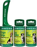 Evercare Pet Hair Extra Sticky Lint Roller with 2 Refills, New ERGO GRIP, 220 Total Sheets