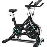 Ancheer Bicicleta de Spinning Bicicleta Indoor de Volante de Inercia de 22kg/18kg Bicicletas de Ciclo con Conecto con…