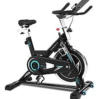 ANCHEER Bicicleta de Spinning Bicicleta Indoor de Volante de Inercia de 22kg Bicicletas de Ciclo con Conecto con App y…
