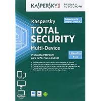Kaspersky Total Security Multi-device - Antivirus, 3 Dispositivos