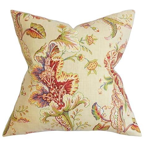 Amazon.com: La almohada Collection ELUNED Floral Multicolor ...