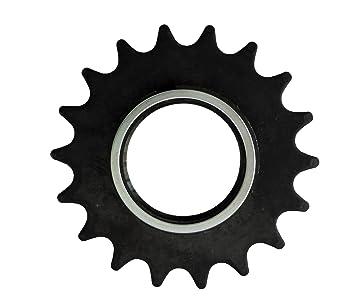 Piñon FIJO Z18 para Bicicleta FIXED o Singlespeed con 18 dientes + ...
