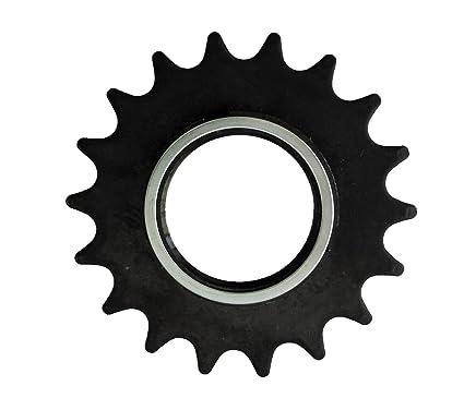 Piñon FIJO Z18 para Bicicleta FIXED o Singlespeed con 18 dientes + Contratuerca Lockring Arriete 3359