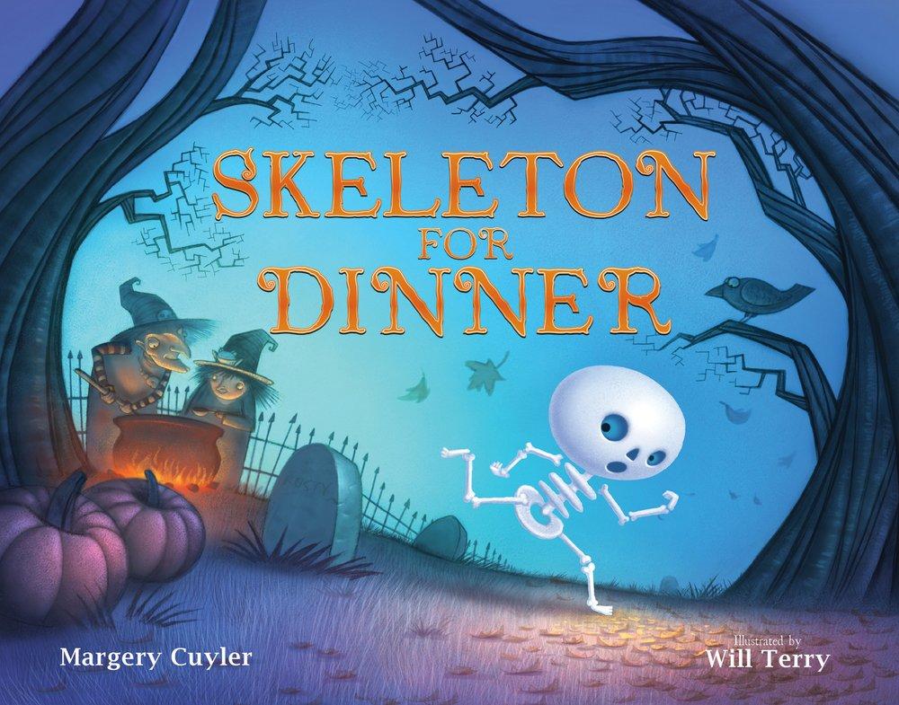 Image result for skeleton for dinner clip art book
