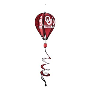 BSI NCAA Oklahoma Sooners Hot Air Balloon Spinner