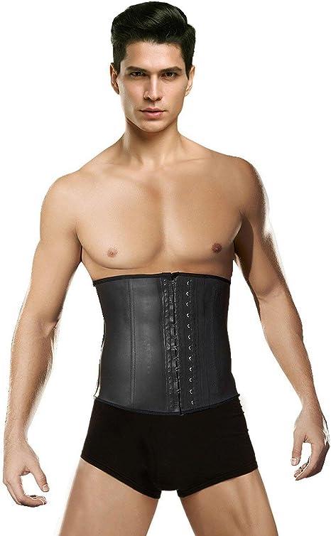 Mens Best Shapewear Girdle for Men Male Corset Tummy Tucker Trimmer Control Belt