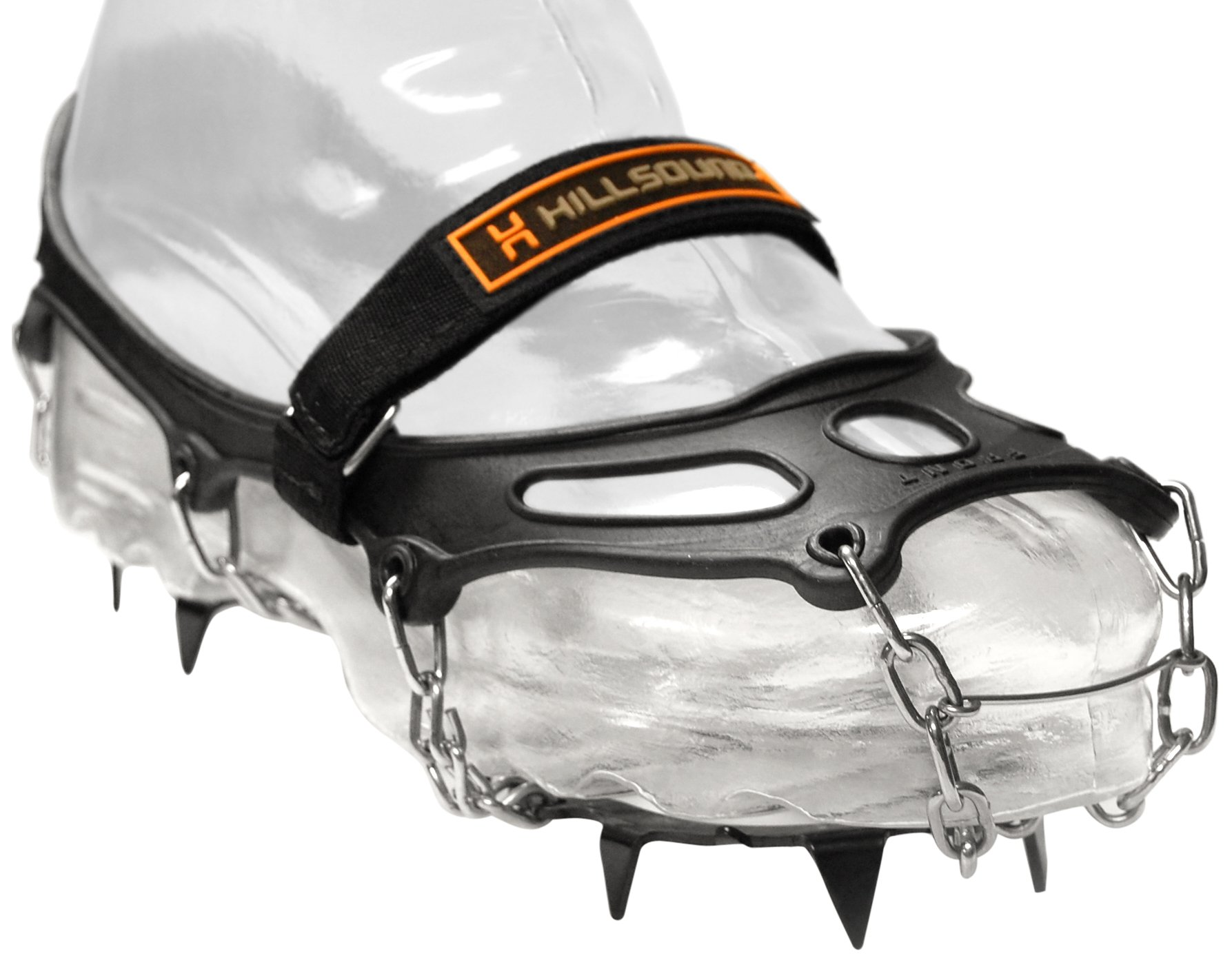 Hillsound Trail Crampon Traction Device, Black, Small