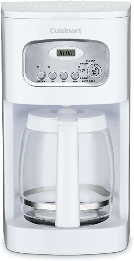 Amazon.com: Cuisinart DCC-1100 12-Cup Programmable Coffeemaker, White: Drip Coffeemakers: Kitchen & Dining