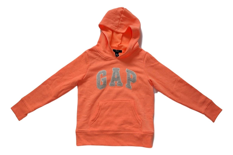 Gap Brecha Niñas Forro Polar Arch Logo - Sudadera con Capucha - Anaranjado -: Amazon.es: Ropa y accesorios