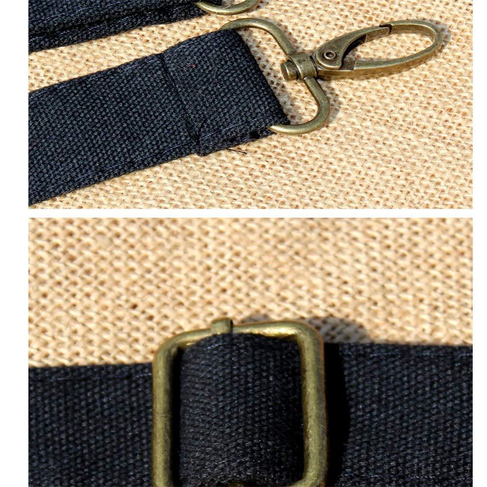 Csqw Broderi axelväska broderad väska kvinnors messengerväska axelväska broderad kanvas vertikal fyrkant b