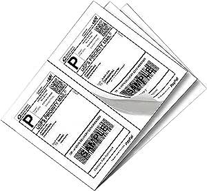 Yens®  100 sheets Full Sheet labels 100 sheets Letter Size