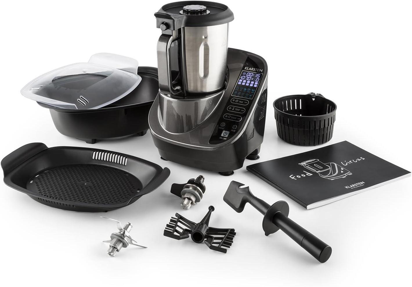 KLARSTEIN Foodcircus Gancho de amasar (Pieza de Repuesto, sin BPA, Apto para lavavajillas, Accesorio Robot de Cocina): Amazon.es