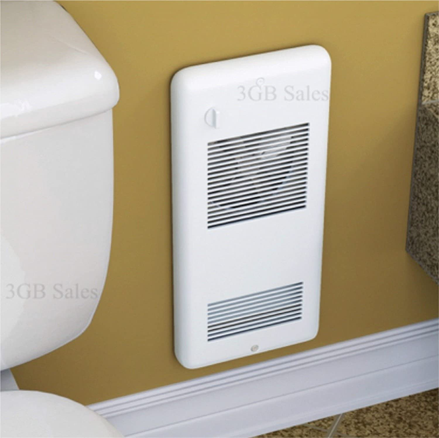High Quality Bathroom Wall Heater U0026 Free Thermometer Bundle: Heats Up To  150 Sq Ft Ultra Quiet Electric Wall Mounted Heater.