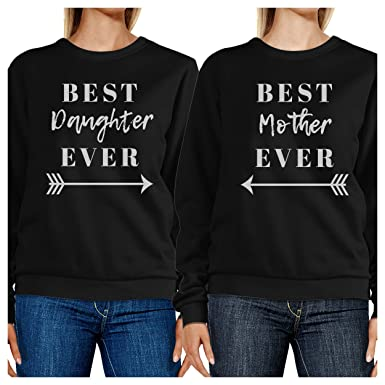 dd63dfc6d 365 Printing Best Daughter Mother Ever Black Unique Moms Gifts from  Daughters
