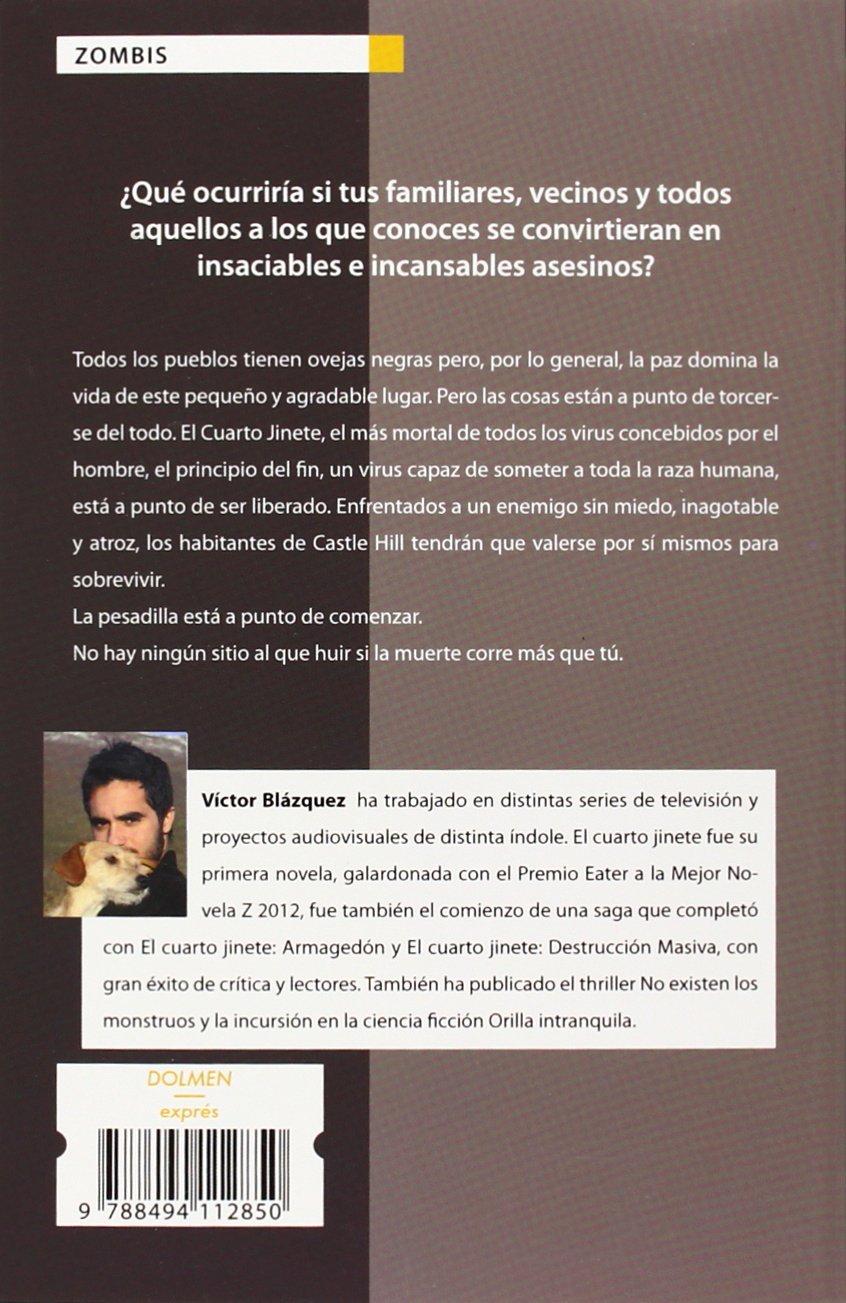 Cuarto jinete, El: Víctor Blázquez: 9788494112850: Amazon.com: Books