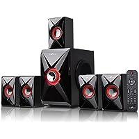 BEFREE SOUND bfs-420 Bluetooth Sistema de Cine en casa, Color Rojo