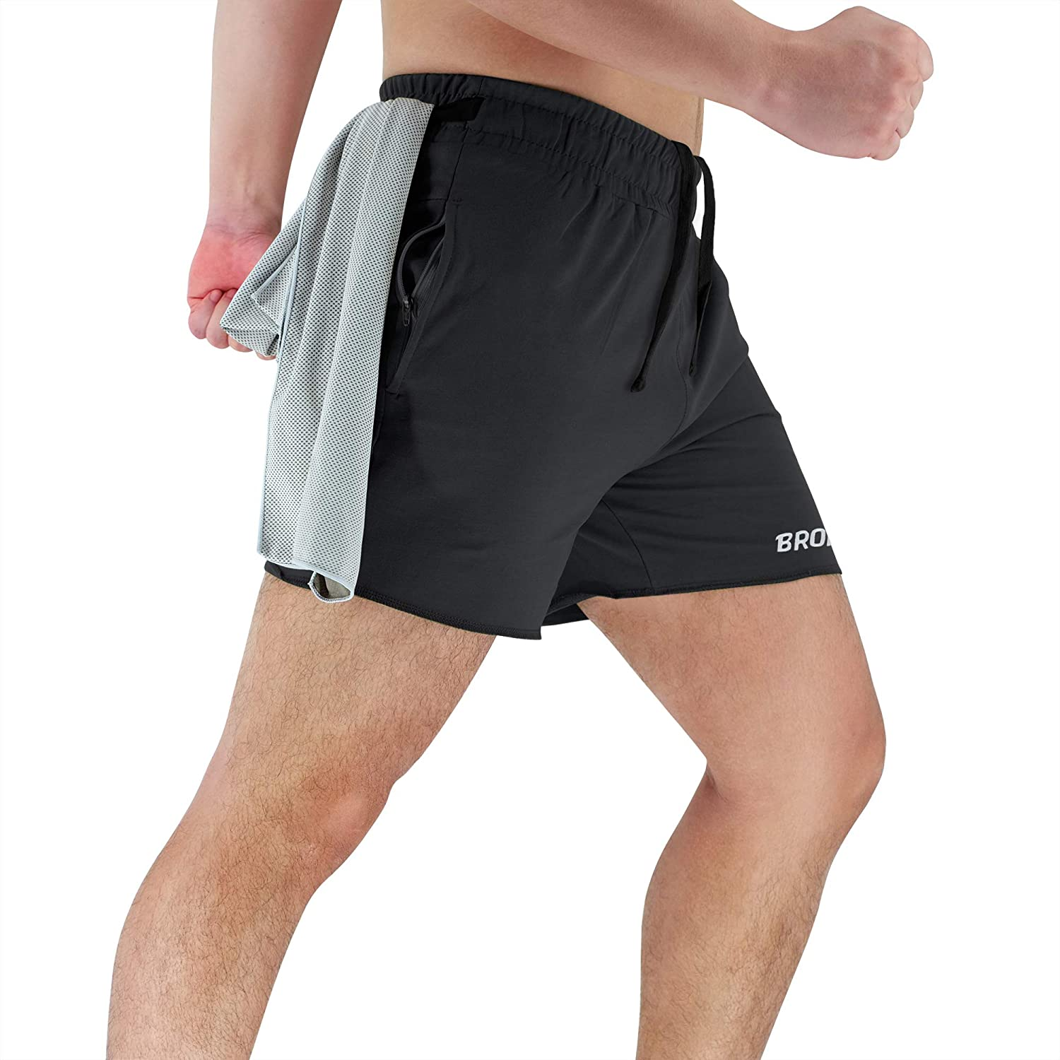 best gym shorts with zipper pockets