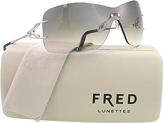 c36dfe4869f Fred Lunettes Sunglasses FL 8364 F1 SILVER 102 VOLUTE SOLAIRE