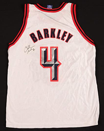 bc841811697 Charles Barkley Autographed Jersey - HOF Champion COA - JSA Certified - Autographed  NBA Jerseys