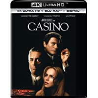Deals on Casino (4K Ultra HD + Blu-ray)