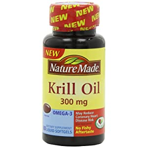 Nature Made Krill Oil Softgels, 300 Mg