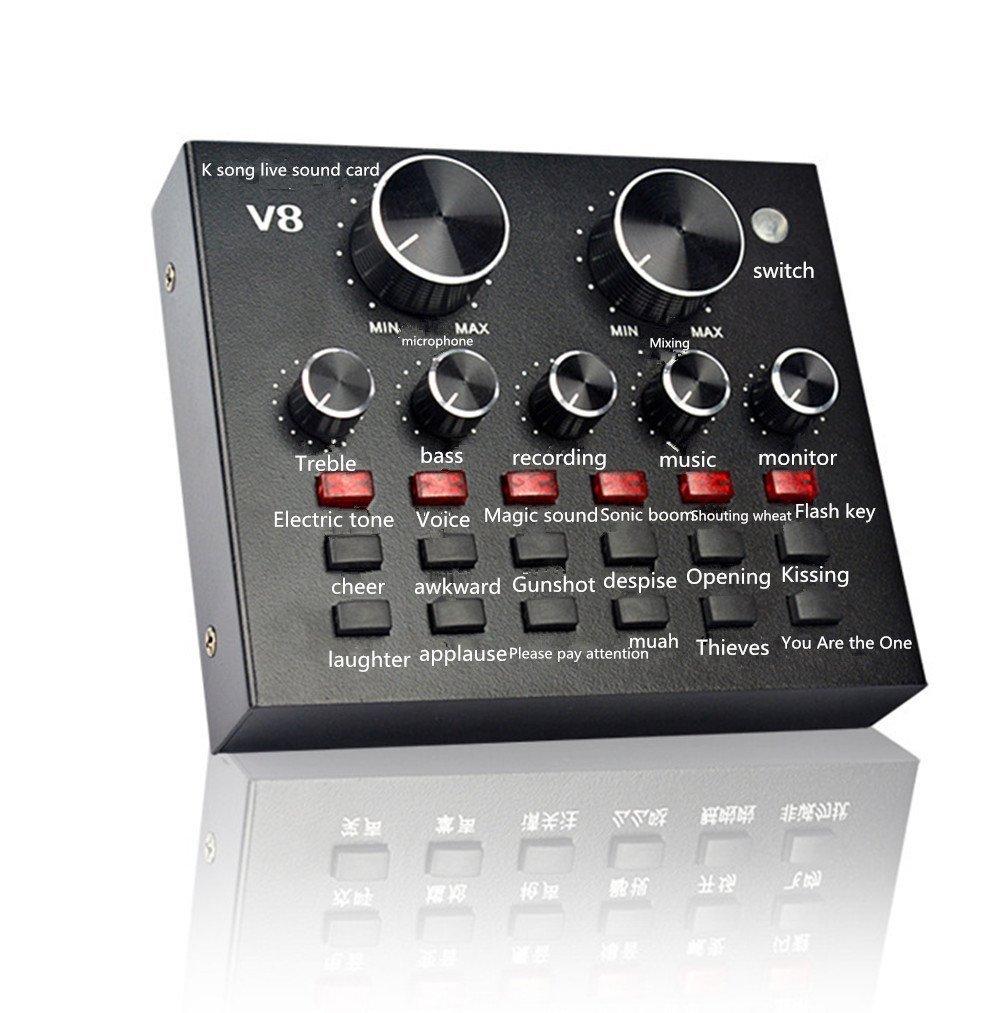 V8 tarjeta de sonido del micrófono de la tarjeta de sonido ...