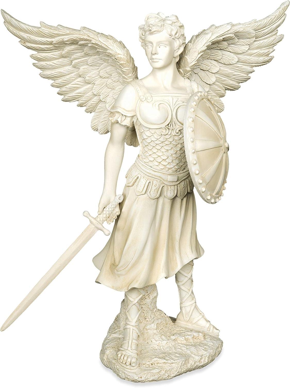 Figura arcangel Miguel Metal