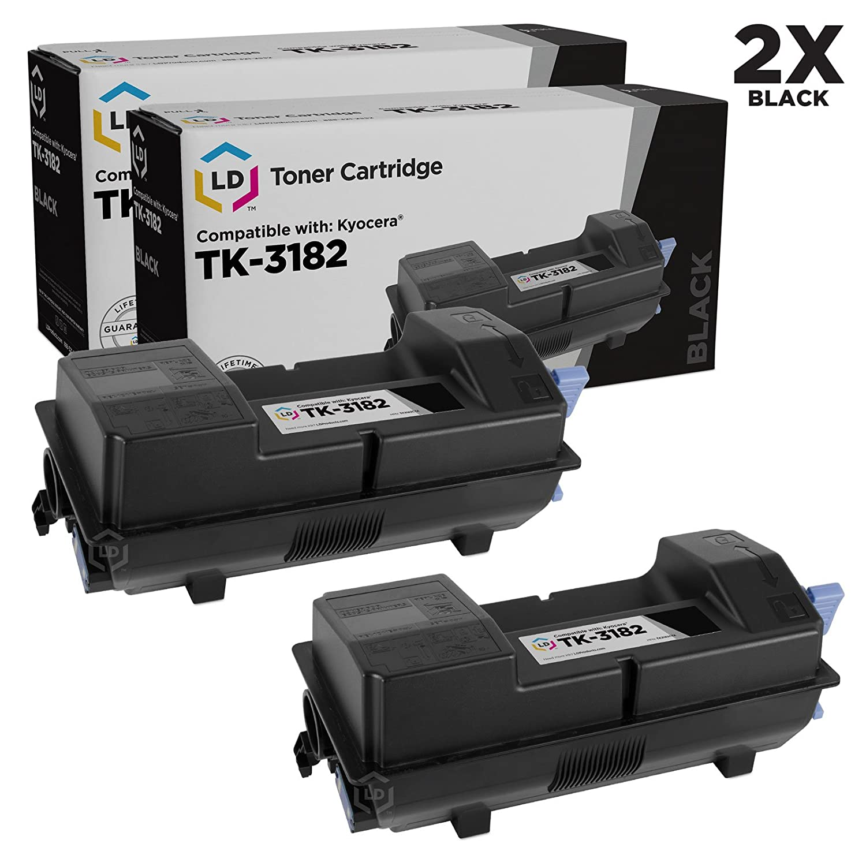 Amazon.com: LD Compatible Kyocera tk-3182 (1t02t70us0) Negro ...