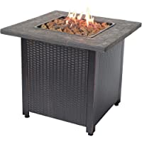 """Endless Summer 30"""" Push Button Start All Weather Outdoor Patio LP Gas Fire Pit"""