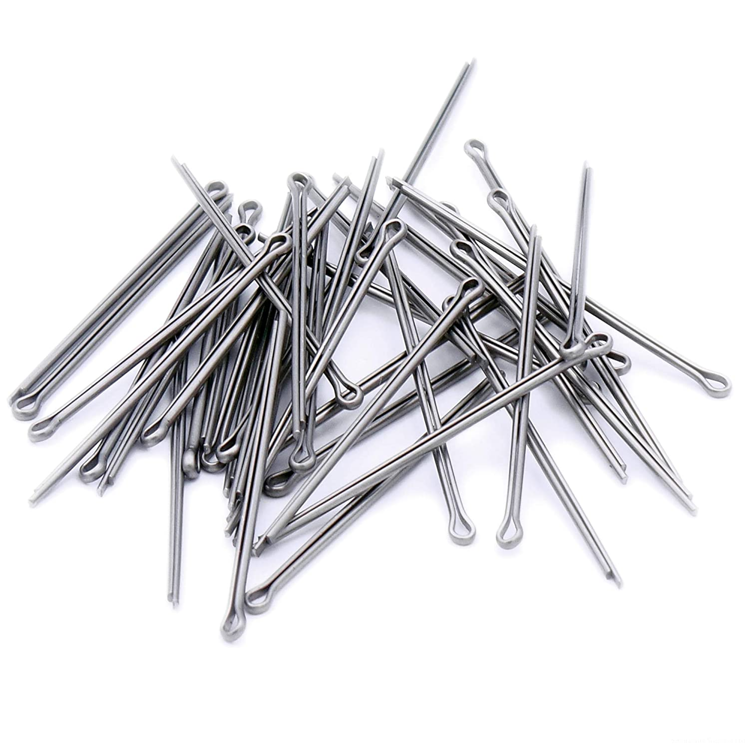 1.6mm x 40mm Split Cotter Pins - Stainless Steel (A2) (Pack of 40) Singularity Supplies Ltd