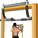 SIEBIRD Doorway Pull Up Bar, Chin Up Bar Doorway No Screws Installation Pullup Bar Exercise Bar, Upper Body Workout Bar Home