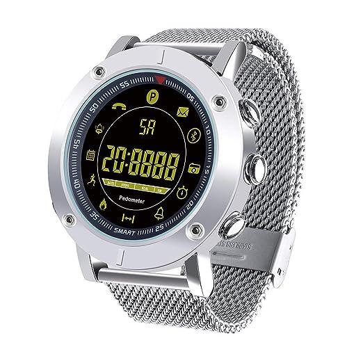 JIJI886 EX19 Smartwatch, IP67, resistente al agua, Bluetooth ...