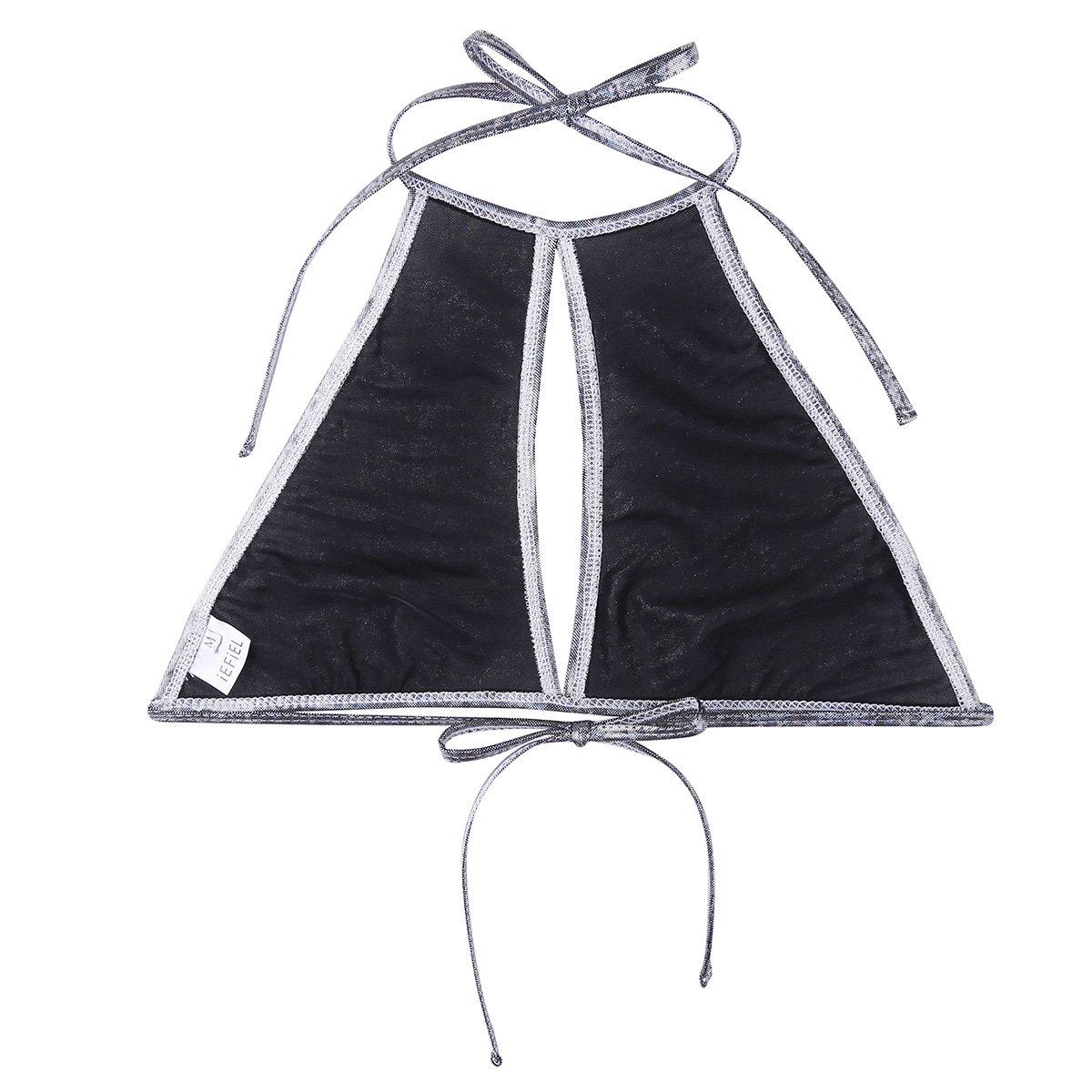 Amazon.com: Chictry - Sujetador de bikini para mujer, con ...