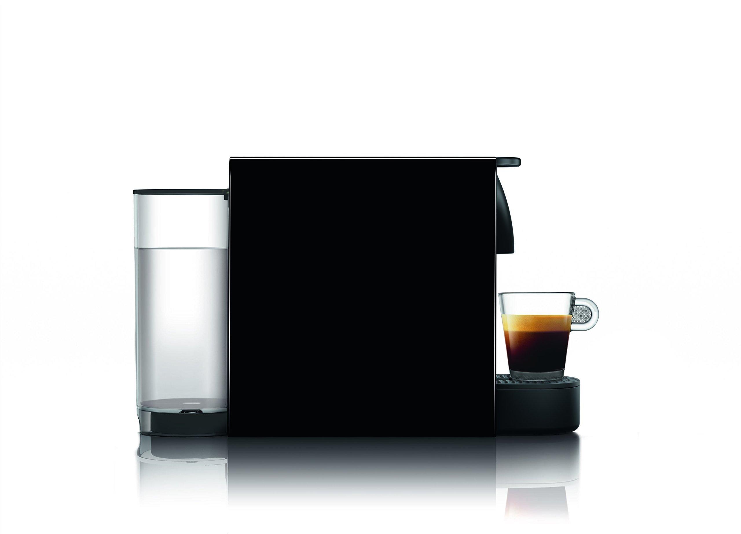 Nespresso Essenza Mini Original Espresso Machine Bundle with Aeroccino Milk Frother by Breville, Piano Black (Renewed) by Breville (Image #5)