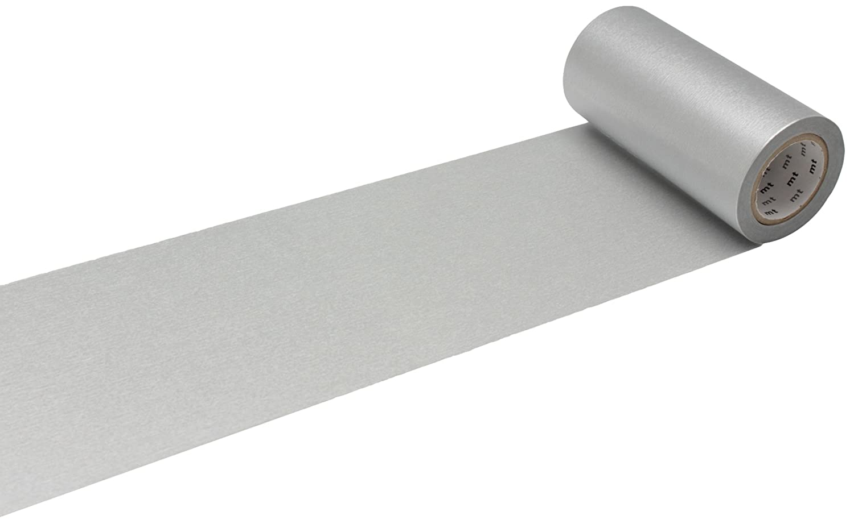 MT Casa Basic 100 mm Washi Masking Masking Masking Tape - Plata 3ccc77