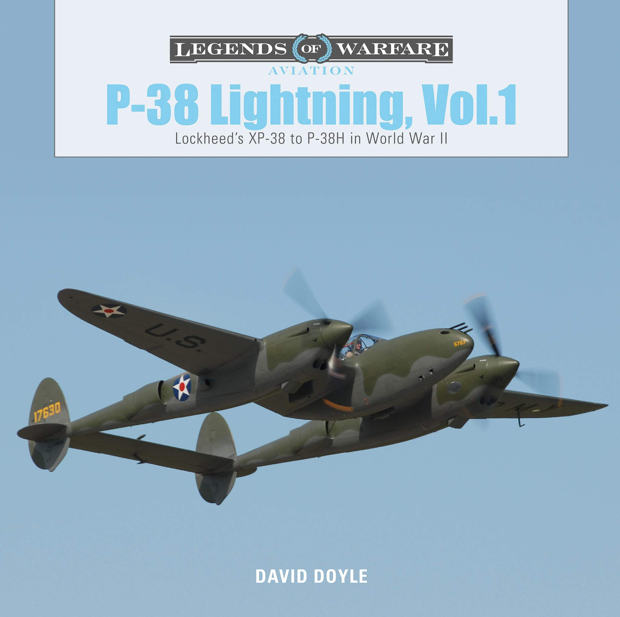 P38 Lightning Vol.1  Lockheed's XP38 To P38H In World War II  Legends Of Warfare  Aviation