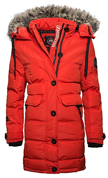 Geographical Norway Colasina Damen Winter Jacke Parka Mantel Outdoor Funktions