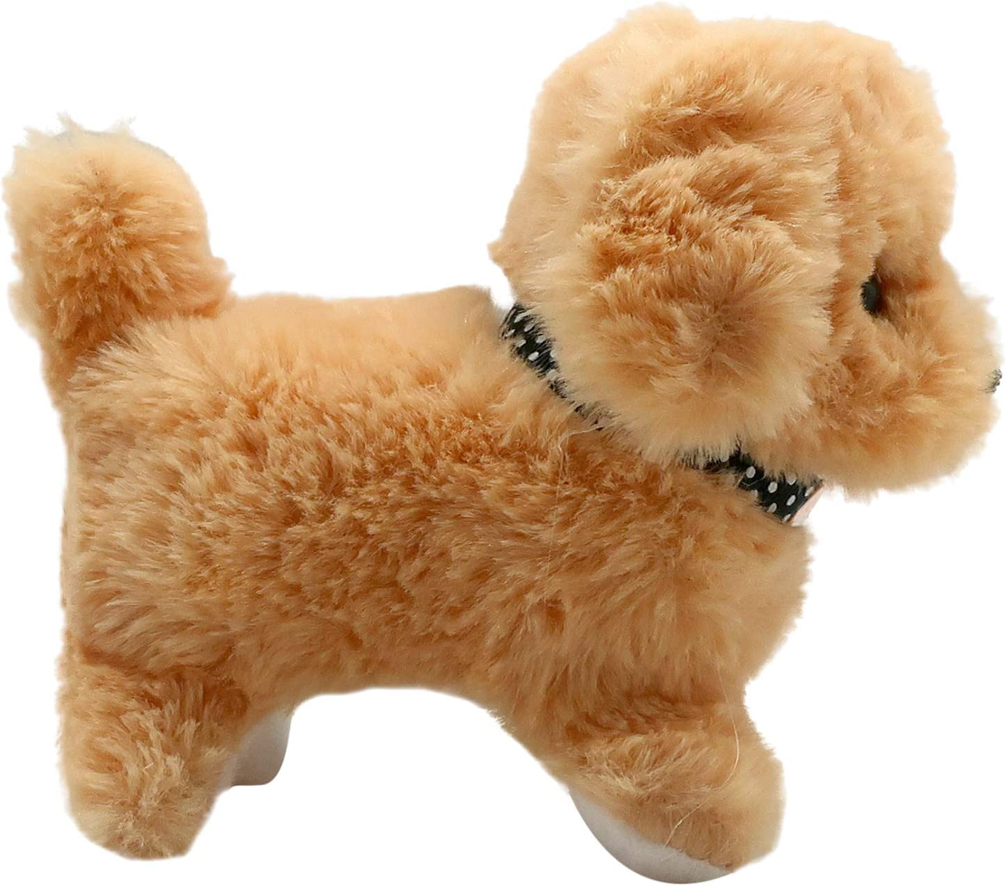 Wags its Tail Toy Dog Brown Forest /& Twelfth Kids Interactive Plush Puppy Girls and Barks for Kids Walks Ideal for Pet Allergic Children Boys Aged 3+ Years
