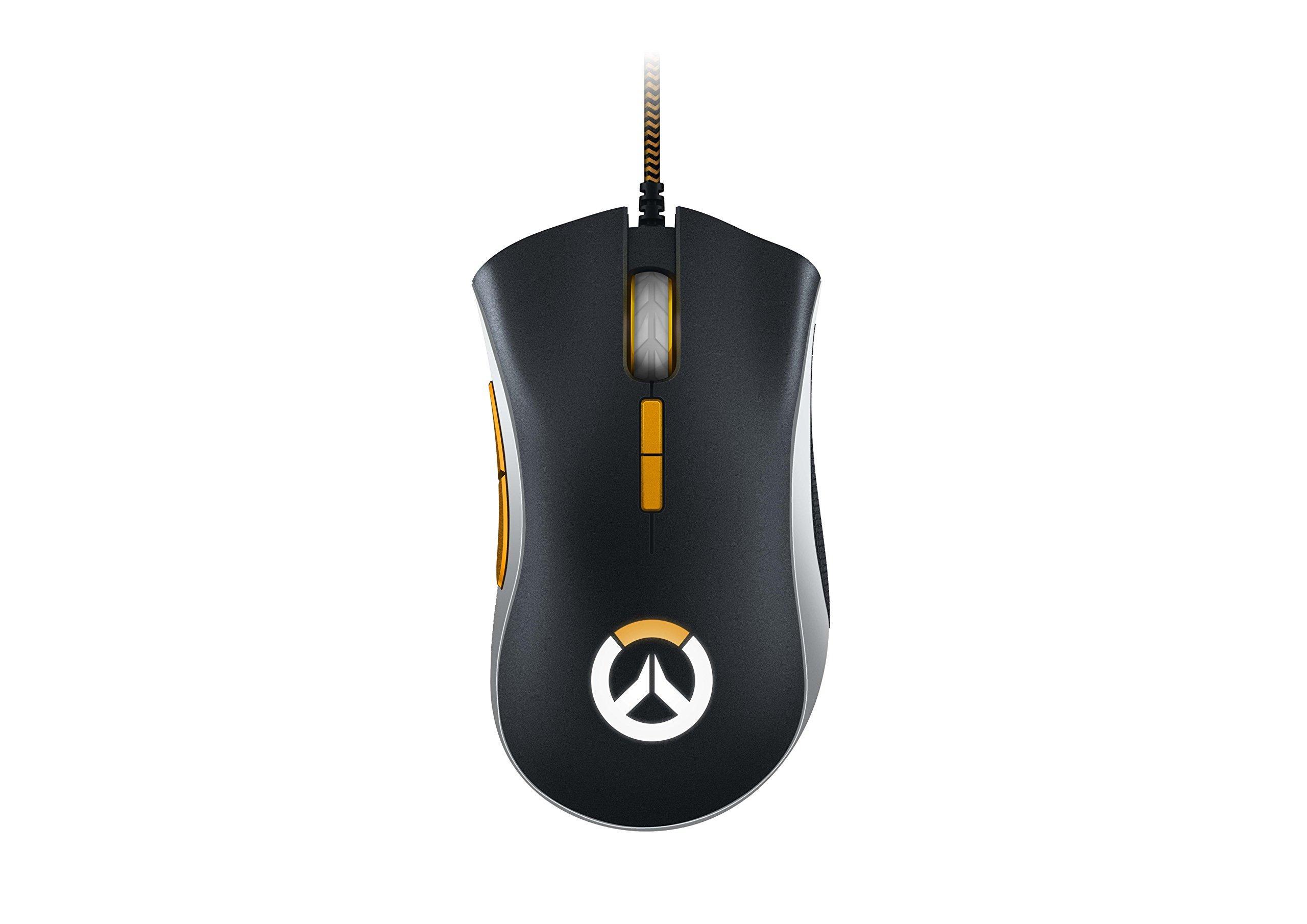 Razer DeathAdder Elite Overwatch Edition - Chroma Enabled RGB Ergonomic Gaming Mouse