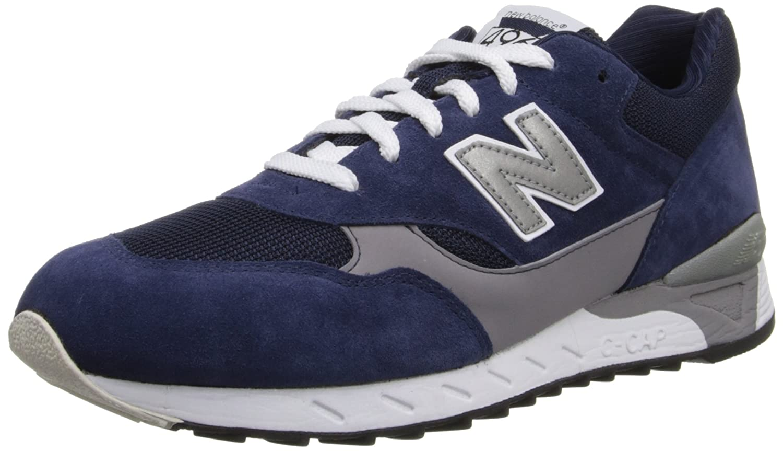 New Balance Men's CM496 Running Shoe B00EZALEGK 9 D(M) US|Navy/Grey