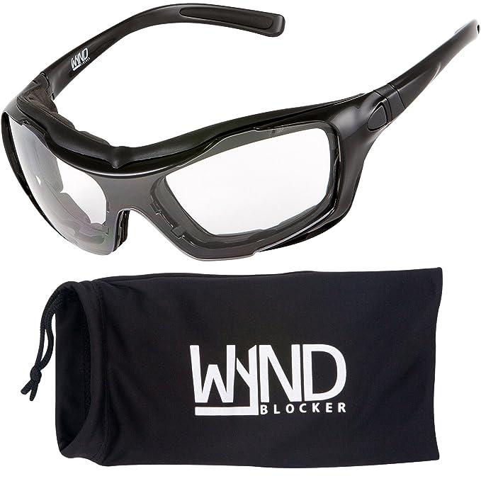 Amazon.com: WYND Blocker - Gafas de sol para motocicleta ...