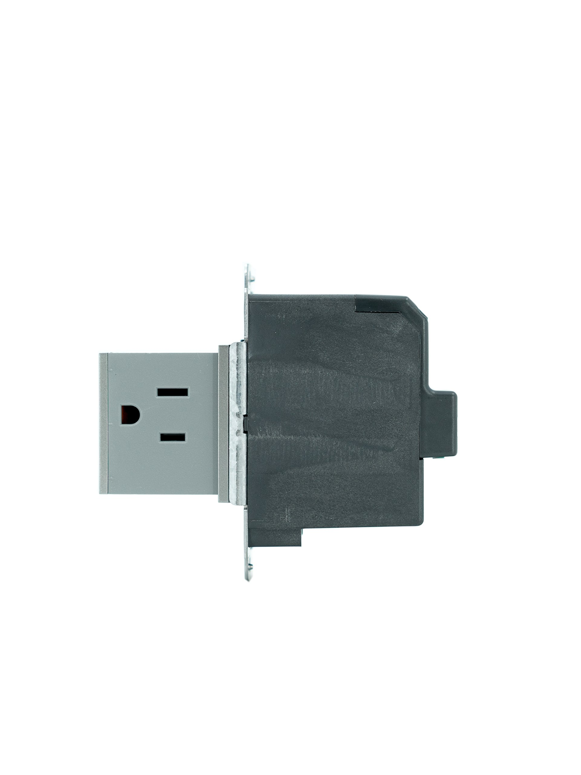 PASS & SEYMOUR ARPTR151GM2 Adorne 1 Gang Magnesium Pop Out Outlet by Pass & Seymour (Image #2)
