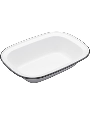 Kitchen Craft Living Nostalgia Recipiente para Tartas, 18,5 cm, Bordes Redondeados,