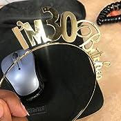 Amazon.com: RhinestoneSash.com – 30 cumpleaños fiesta ...