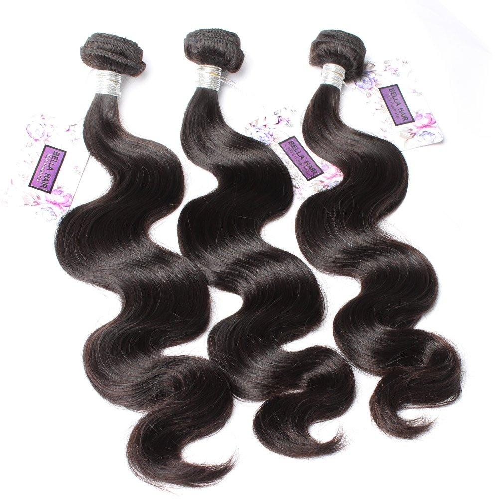 Amazon Bella Hair 100 Real Brazilian Body Wave Bundles Hair