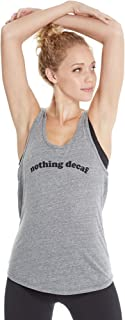 product image for good hYOUman Women's Casey Nothing Decaf Uneck Tank
