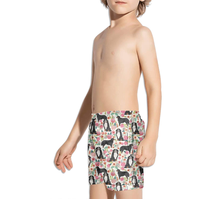 lidongsing Vizsla Dog Print Kids Boys Fast Drying Beach Swim Trunks Pants